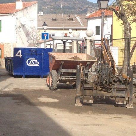 Servicio de contenedores de residuos